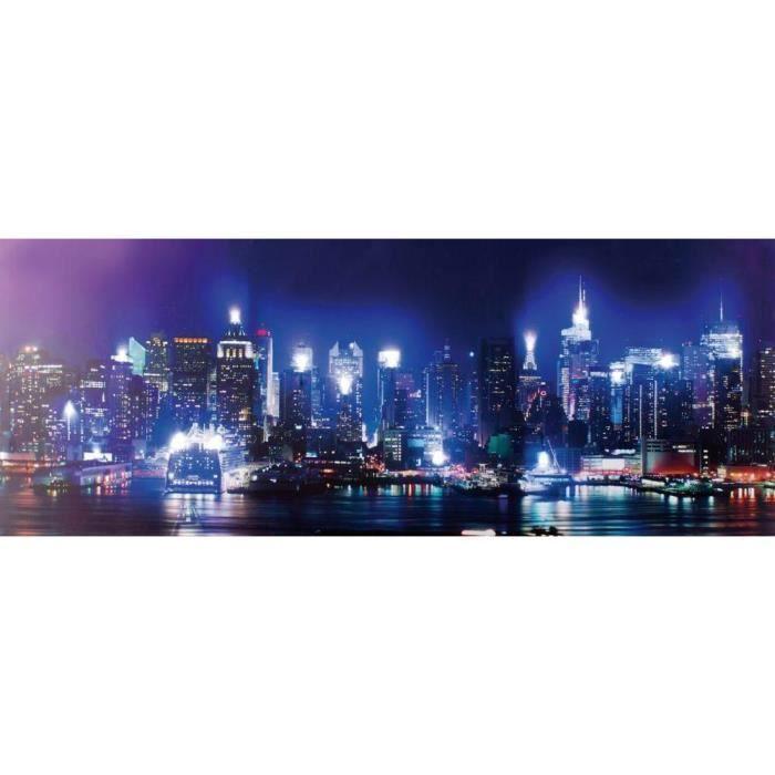 Tableau lumineux led achat vente tableau lumineux led pas cher cdiscount - Tableau lumineux new york led ...
