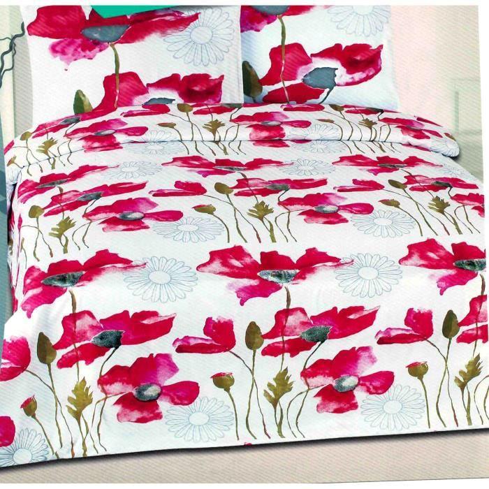 parure de lit pour une personne achat vente parure de lit cdiscount. Black Bedroom Furniture Sets. Home Design Ideas