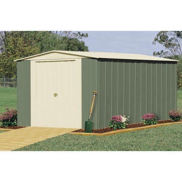abri de jardin m tal colorbond 12 34m treco achat vente abri jardin ch. Black Bedroom Furniture Sets. Home Design Ideas