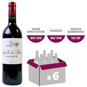 VIN ROUGE La Chapelle de Potensac Médoc 2012 - Vin rouge x6