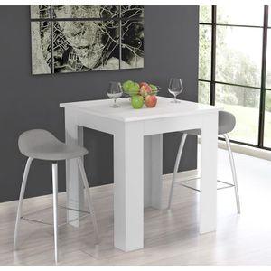 table haute mange debout achat vente table haute mange debout pas cher cdiscount. Black Bedroom Furniture Sets. Home Design Ideas