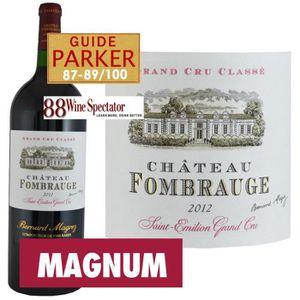 VIN ROUGE Magnum Château Fombrauge Saint Emilion Grand Cru 2