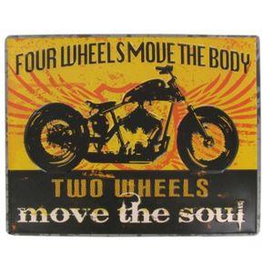 Deco plaques fer ou plaque emaillee  Plaque-matard-style-hd-biker-chopper-rare-en-reli