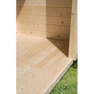 abri en bois achat vente abri en bois pas cher les soldes sur cdiscount cdiscount. Black Bedroom Furniture Sets. Home Design Ideas