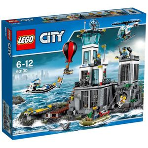 ASSEMBLAGE CONSTRUCTION LEGO® City 60130 La Prison en haute Mer