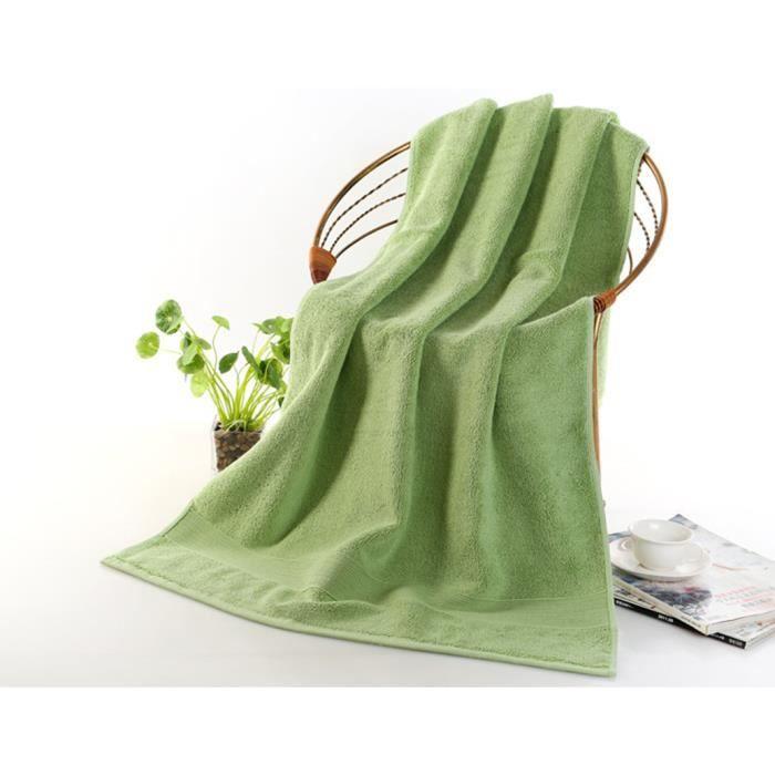 drap de bain elegance vert 70x140 cm achat vente serviettes de bain cdiscount. Black Bedroom Furniture Sets. Home Design Ideas