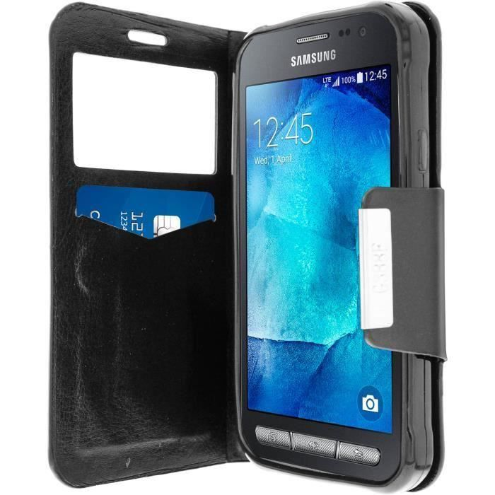 Etui portefeuille samsung galaxy xcover 3 achat housse for Housse xcover 4