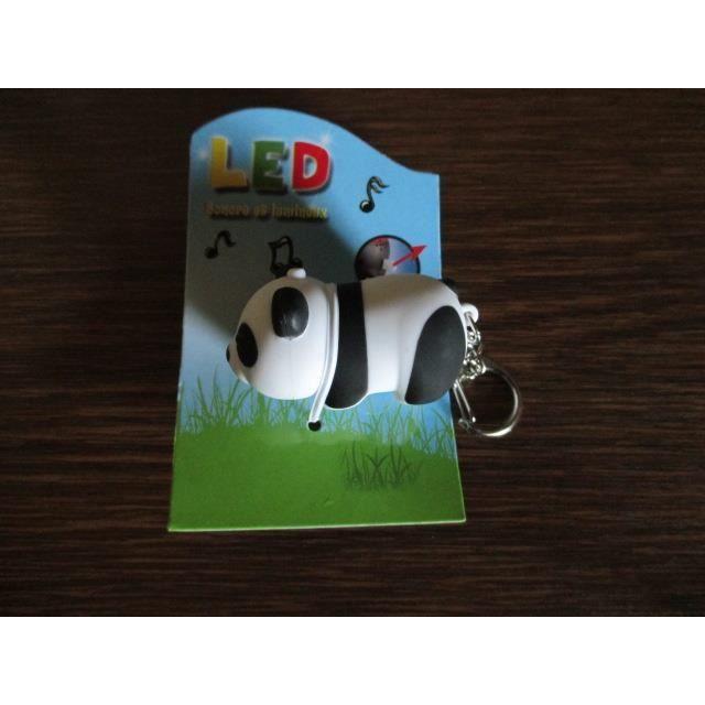 porte cl lumineux et sonore panda led achat vente accessoire de figurine cdiscount. Black Bedroom Furniture Sets. Home Design Ideas