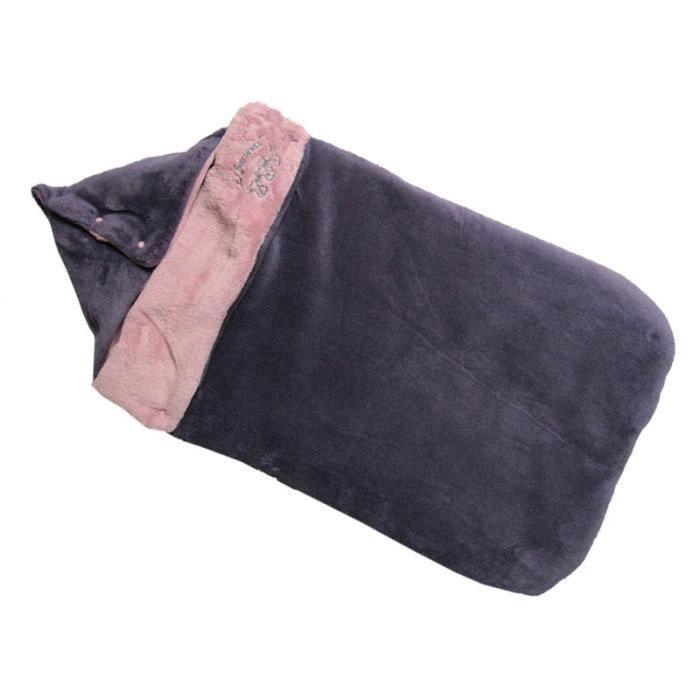 nid d 39 ange avec passe sangles prune rose violet achat. Black Bedroom Furniture Sets. Home Design Ideas