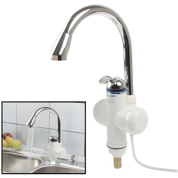 robinet chauffe eau instantan lectrique chauf achat vente chauffe eau robinet chauffe. Black Bedroom Furniture Sets. Home Design Ideas