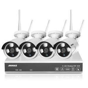 kit camera de surveillance sans fil exterieur achat vente kit camera de surveillance sans. Black Bedroom Furniture Sets. Home Design Ideas