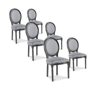 Chaises louis xvi achat vente chaises louis xvi pas for Maison du monde chaise louis xvi