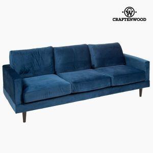 Canape 3 places bleu achat vente canape 3 places bleu for Canape 3 2 1 pas cher