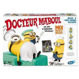 JEU SOCIÉTÉ - PLATEAU Docteur Maboul Moi moche et méchant