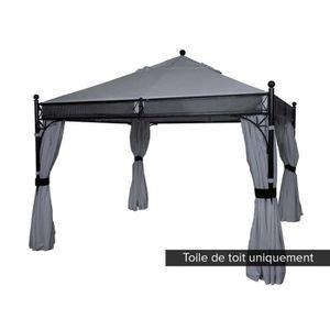 toile de toit pour tonnelle achat vente toile de toit pour tonnelle pas cher cdiscount. Black Bedroom Furniture Sets. Home Design Ideas