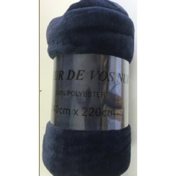 plaid fausse fourrure 220cmx240cm tr s doux id al pour l 39 hiver couleur bleu achat vente. Black Bedroom Furniture Sets. Home Design Ideas