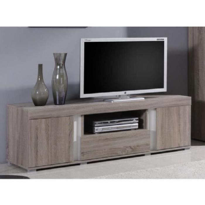 meuble tv design avignon 2 portes 1 tiroir id al pour votre salon achat vente meuble tv. Black Bedroom Furniture Sets. Home Design Ideas