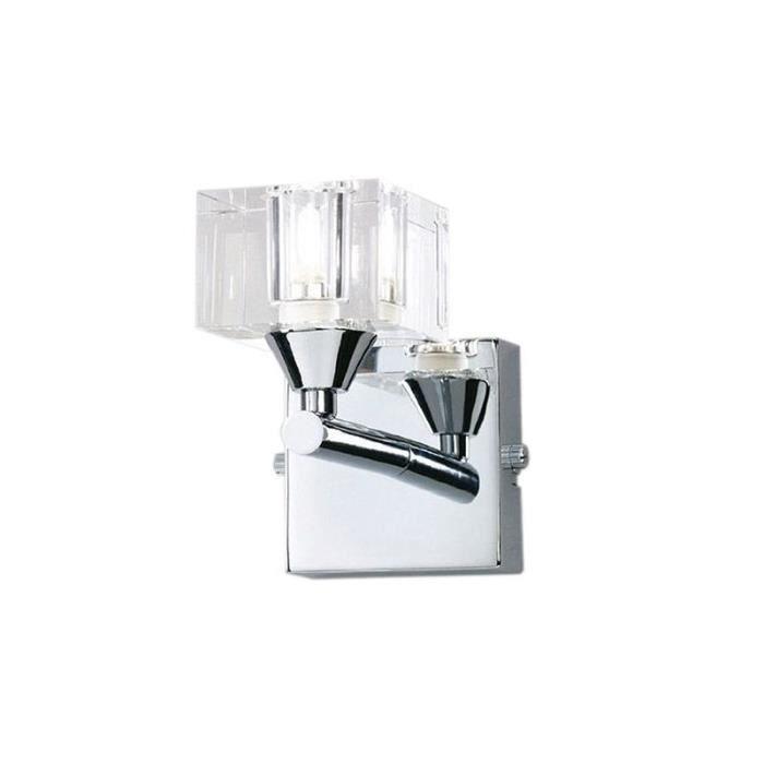 Lampe murale cubic 1 lampe achat vente lampe murale - Lampe murale avec interrupteur ...