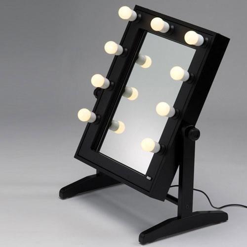 Miroir sur pieds table de maquillage professionnel cantoni achat vente coffret cadeau Miroir de chambre sur pied