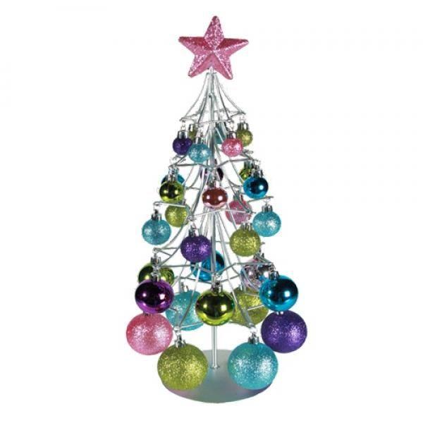 sapin de no l argent avec boules de couleurs achat vente sapin arbre de no l cdiscount. Black Bedroom Furniture Sets. Home Design Ideas