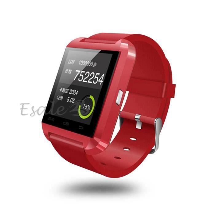 montre bracelet bluetooth smart watch appel musique pour. Black Bedroom Furniture Sets. Home Design Ideas