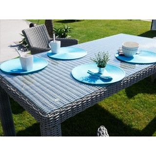 Table de jardin luxe en r sine tress eac achat vente table de jardin table de jardin luxe - Table de jardin luxe marseille ...
