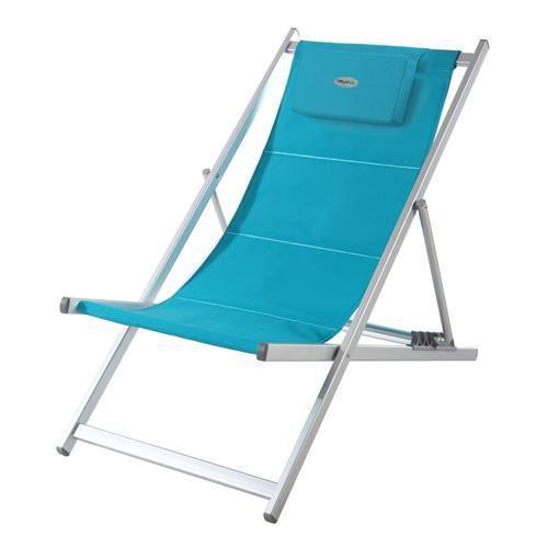 Chilienne honolulu lagon achat vente chaise longue for Chaise longue pliante legere