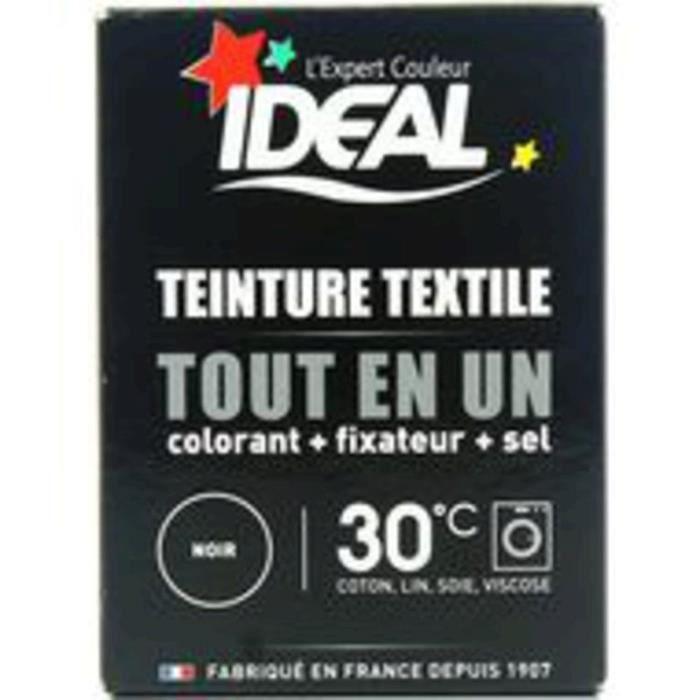 Ideal teinture textile noir 230g achat vente soin du - Teinture textile ideal ...