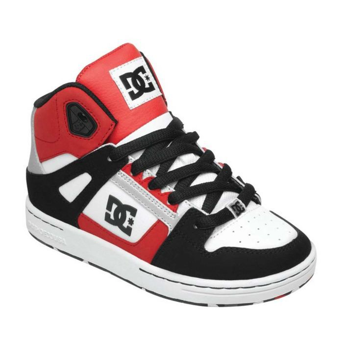 chaussures mode dc shoes rebound rouge rouge achat vente basket cdiscount. Black Bedroom Furniture Sets. Home Design Ideas