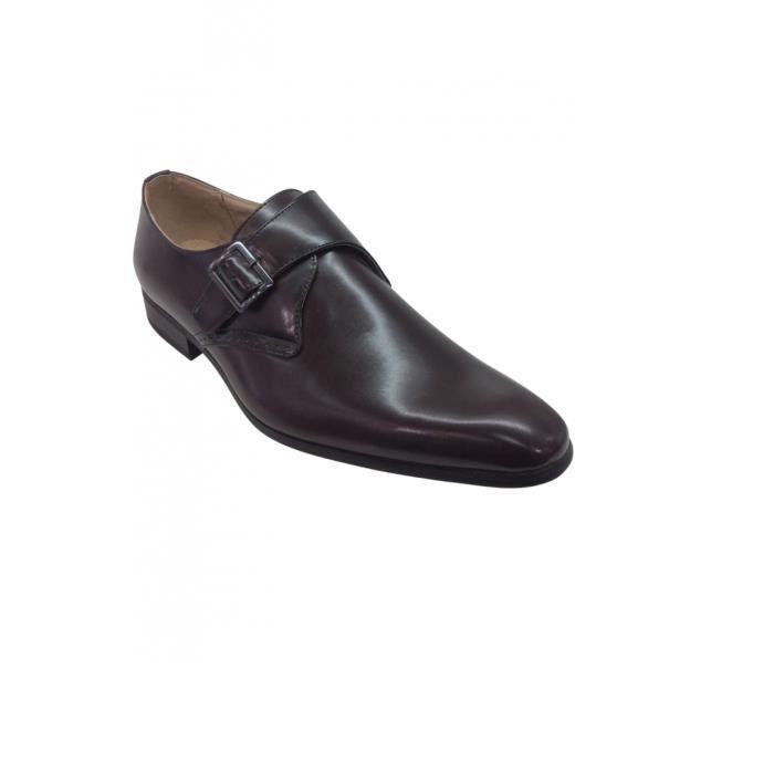 chaussure avec boucle marron pour homme marron achat vente derby cdiscount. Black Bedroom Furniture Sets. Home Design Ideas