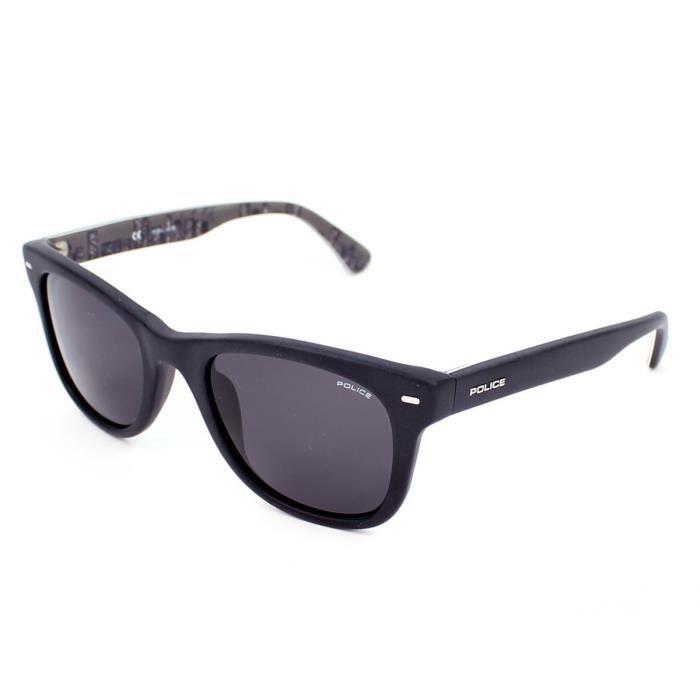 De soleil police s1861 noir mat, verres - référence : police