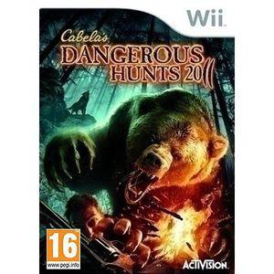 JEUX WII CABELA'S DANGEROUS HUNTS + FUSIL / Jeu Wii