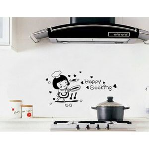 stickers muraux de cuisine achat vente stickers muraux de cuisine pas cher cdiscount. Black Bedroom Furniture Sets. Home Design Ideas