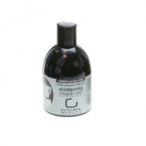 shampoing shampoing colorant gris pure blanc 250 ml integ - Shampoing Colorant Cheveux Blancs