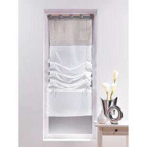 rideaux fenetre 60x180 achat vente rideaux fenetre 60x180 pas cher cdiscount. Black Bedroom Furniture Sets. Home Design Ideas