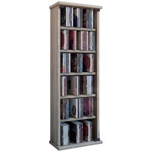 Meuble rangement cd dvd achat vente meuble rangement for Commode bibliotheque meuble