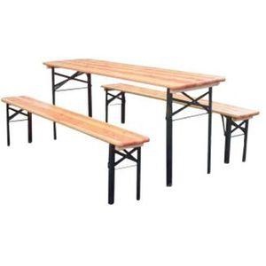 banc pour table achat vente banc pour table pas cher cdiscount. Black Bedroom Furniture Sets. Home Design Ideas