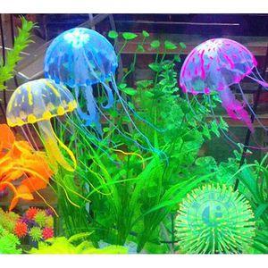 déco aquarium meduse