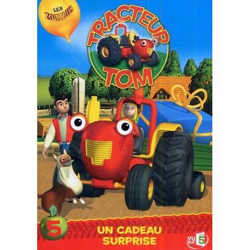 Dvd tracteur tom vol 5 un cadeau surprise en dvd dessin anim pas cher les soldes sur - Tracteurs tom ...
