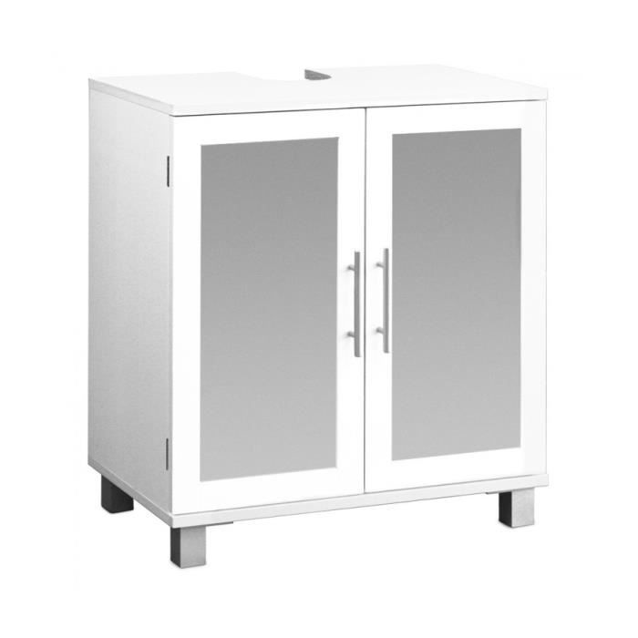 superbe meuble sous vier avec deux portes en verre d poli achat vente meuble sous vier. Black Bedroom Furniture Sets. Home Design Ideas