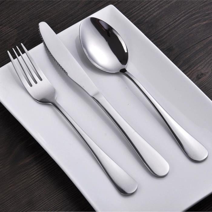 couteau fourchette cuill re 3 en 1 couverts en acier inoxydable couverts dinner set. Black Bedroom Furniture Sets. Home Design Ideas