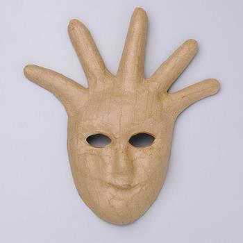 masque en papier m ch 5 mod les au choix achat vente papier mach masque en papier m ch. Black Bedroom Furniture Sets. Home Design Ideas