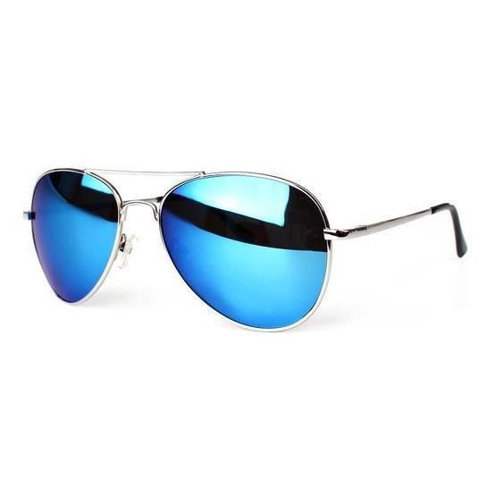lunette soleil ray ban aviator effet miroir