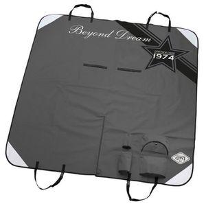 D&D Plaid de protection pour voiture Beyond dreams - 150x145cm - Gris