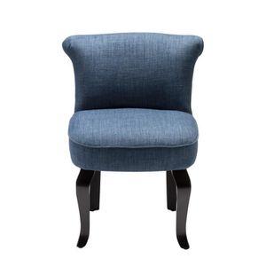 Fauteuil crapaud lin bleu achat vente fauteuil beige cadeaux de no l cd - Fauteuil crapaud cdiscount ...