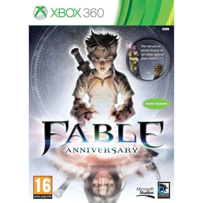 JEUX XBOX 360 Fable Anniversaire Jeu Xbox 360