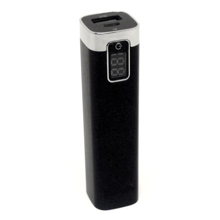 Batterie de secours portable puissante affichage achat - Batterie secours portable ...
