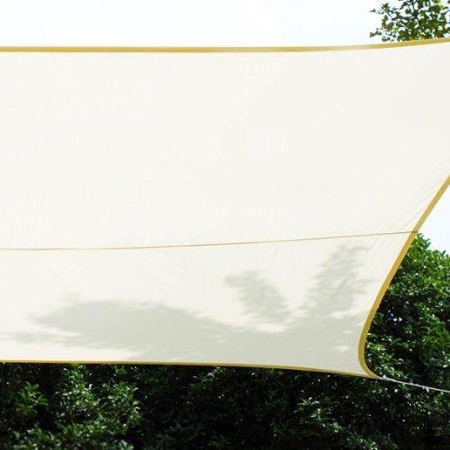 toile solaire voile d 39 ombrage 3 x 4 m pour ombrager votre jardin achat vente voile d 39 ombrage. Black Bedroom Furniture Sets. Home Design Ideas