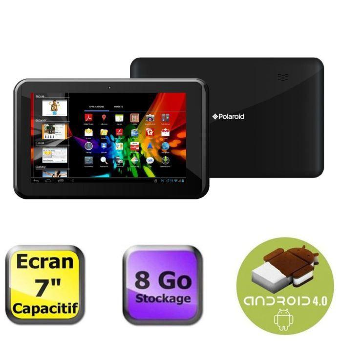 Polaroid tablette 7 39 39 8 go achat vente tablette - Ecran tactile tablette polaroid ...