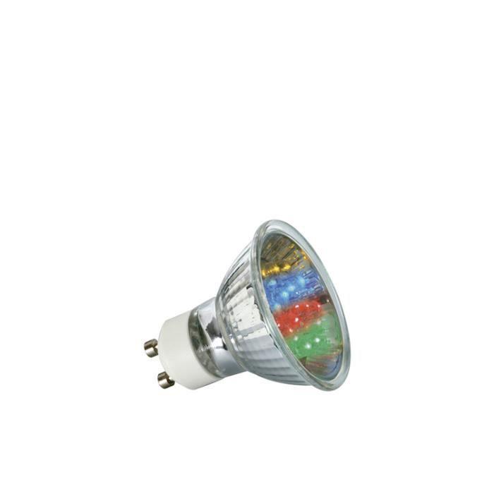 paulmann 28013 reflecteur led 1w gu10 7 colors achat vente ampoule led cdiscount. Black Bedroom Furniture Sets. Home Design Ideas